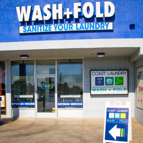 Coast Laundry - Wash + Fold - Commercial Service - Front of Building
